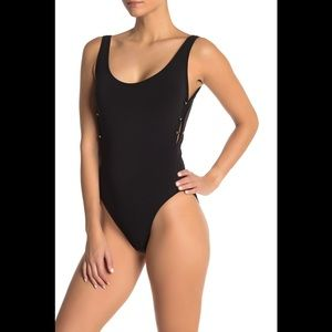 Robin Piccone Luca One Piece Swimsuit in Black 10